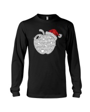 Apple Teacher Shirt Long Sleeve Tee thumbnail