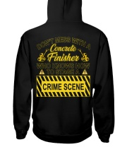 Don't Mess With A Concrete Finisher Hooded Sweatshirt thumbnail