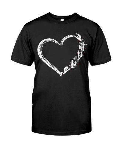 Lineman Love Heart