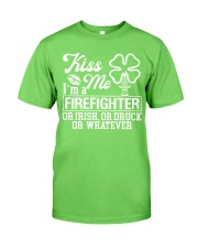 Firefighter - Kiss Me  Classic T-Shirt front