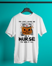 You Can't Scare Me I'm A Nurse Classic T-Shirt lifestyle-mens-crewneck-front-3