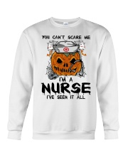 You Can't Scare Me I'm A Nurse Crewneck Sweatshirt thumbnail