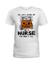 You Can't Scare Me I'm A Nurse Ladies T-Shirt thumbnail