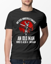 Lineman Oldman Classic T-Shirt lifestyle-mens-crewneck-front-13