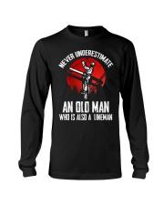 Lineman Oldman Long Sleeve Tee thumbnail