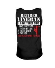 Retired Lineman I Have Three Side  Unisex Tank thumbnail