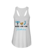 Nurse Love Cure Diabetes Ladies Flowy Tank thumbnail