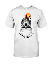 I Hate People camping Premium Fit Mens Tee thumbnail