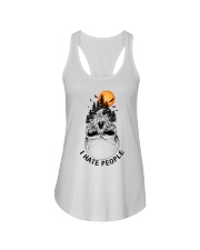 I Hate People camping Ladies Flowy Tank thumbnail