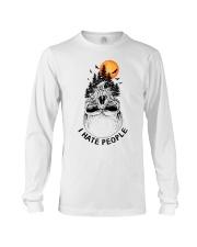 I Hate People camping Long Sleeve Tee thumbnail