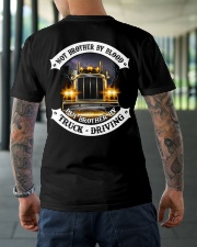 Not Brother By Blood But Brother By Truck Drivin Classic T-Shirt lifestyle-mens-crewneck-back-3