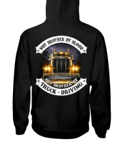 Not Brother By Blood But Brother By Truck Drivin Hooded Sweatshirt thumbnail