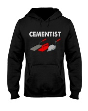 Concrete Finisher Cementist Hooded Sweatshirt front