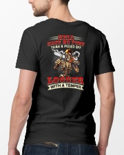 Hell Have No Fury Than A Pissed Off Logger Classic T-Shirt lifestyle-mens-crewneck-back-5