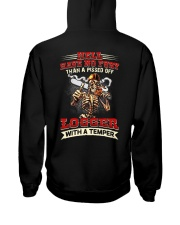 Hell Have No Fury Than A Pissed Off Logger Hooded Sweatshirt thumbnail
