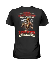 Hell Have No Fury Than A Pissed Off Logger Ladies T-Shirt thumbnail