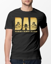 Dad The Welder The Myth The Legend Classic T-Shirt lifestyle-mens-crewneck-front-13