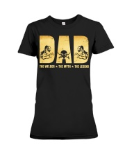Dad The Welder The Myth The Legend Premium Fit Ladies Tee thumbnail