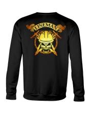Lineman Skull Crewneck Sweatshirt thumbnail