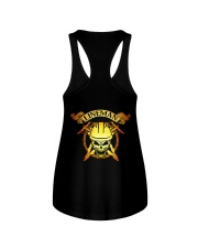 Lineman Skull Ladies Flowy Tank thumbnail