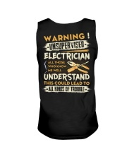 Electrician All Kinds Of Trouble Unisex Tank thumbnail