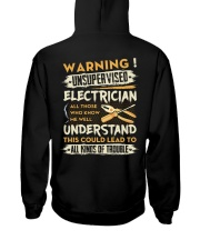Electrician All Kinds Of Trouble Hooded Sweatshirt thumbnail