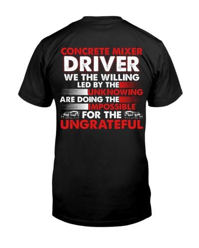 Concrete Mixer Driver For The Ungrateful