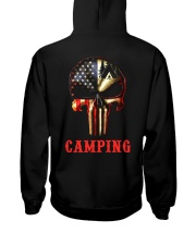 Camping Skull Hooded Sweatshirt thumbnail