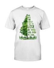 And Into The Forest I Go To Lose Classic T-Shirt thumbnail