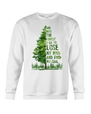 And Into The Forest I Go To Lose Crewneck Sweatshirt thumbnail