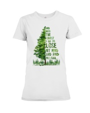 And Into The Forest I Go To Lose Premium Fit Ladies Tee thumbnail