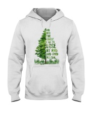 And Into The Forest I Go To Lose Hooded Sweatshirt thumbnail