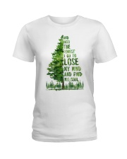 And Into The Forest I Go To Lose Ladies T-Shirt thumbnail
