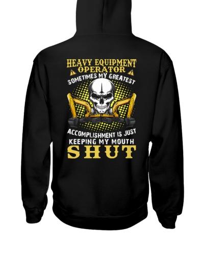 Heavy Equipment Operator Keep My Mouth Shut