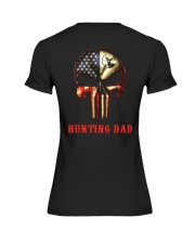 Hunting Dad Skull Premium Fit Ladies Tee thumbnail