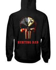 Hunting Dad Skull Hooded Sweatshirt thumbnail
