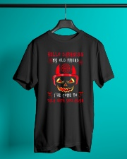 Hello darkness My old friend I've come Classic T-Shirt lifestyle-mens-crewneck-front-3
