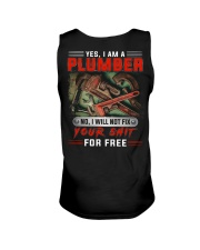 Plumber I Will Not Fix Your Shit  Unisex Tank thumbnail