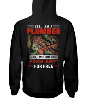 Plumber I Will Not Fix Your Shit  Hooded Sweatshirt thumbnail