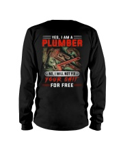 Plumber I Will Not Fix Your Shit  Long Sleeve Tee thumbnail