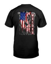 Flag Welder Tee Classic T-Shirt back