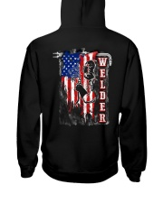 Flag Welder Tee Hooded Sweatshirt thumbnail