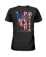 Flag Welder Tee Ladies T-Shirt thumbnail