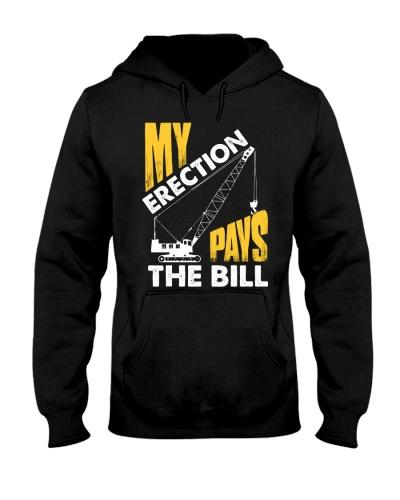 Crane Operator My Erection Pays The Bill