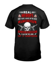 Flag On The Arm Of A Uniform Classic T-Shirt back