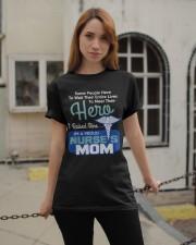 I'm A Proud Nurse Mom Classic T-Shirt apparel-classic-tshirt-lifestyle-19
