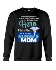 I'm A Proud Nurse Mom Crewneck Sweatshirt thumbnail
