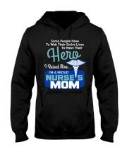 I'm A Proud Nurse Mom Hooded Sweatshirt thumbnail