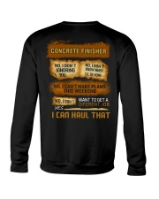 Concrete Finisher - I Can Haul That Crewneck Sweatshirt thumbnail