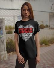 Power Lineman Heart Classic T-Shirt apparel-classic-tshirt-lifestyle-18